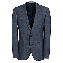 Buy Tommy Hilfiger Cuyper Check Blazer, Blue Online at johnlewis.com