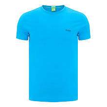 Buy BOSS Green Cotton Crew Neck T-Shirt Online at johnlewis.com