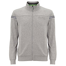 Buy BOSS Orange Scaz Zip Tracksuit Top, Grey Online at johnlewis.com