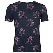 Buy Ted Baker Mintell Floral Crew Neck T-Shirt Online at johnlewis.com