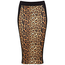 Buy Miss Selfridge Animal Print Pencil Skirt, Assorted Online at johnlewis.com