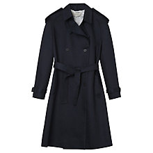 Buy Gerard Darel Archibald Trench Coat, Blue Online at johnlewis.com