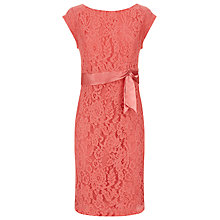 Buy Kaliko Vintage Lace Shift Dress, Pastel Orange Online at johnlewis.com