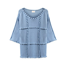 Buy East Bobble Detail Jumper, Sky Online at johnlewis.com