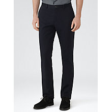 Buy Reiss Bennett Straight Leg Chinos, Navy Online at johnlewis.com