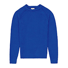 Buy Reiss Chiswick Chunky Weave Cotton Jumper Online at johnlewis.com
