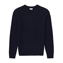 Buy Reiss Brussels Honeycomb Knit Jumper Online at johnlewis.com