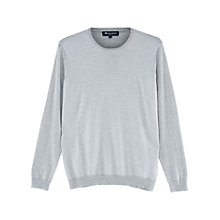 Buy Aquascutum Harley Merino Jumper, Grey Online at johnlewis.com