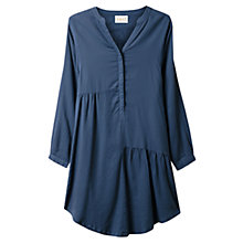 Buy East Seam Detail Shirt Dress, Indigo Online at johnlewis.com