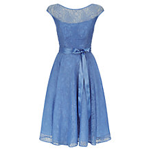 Buy Kaliko Beaded Lace Prom Dress, Light Blue Online at johnlewis.com