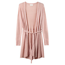 Buy East Linen Longline Cardigan, Pale Pink Online at johnlewis.com