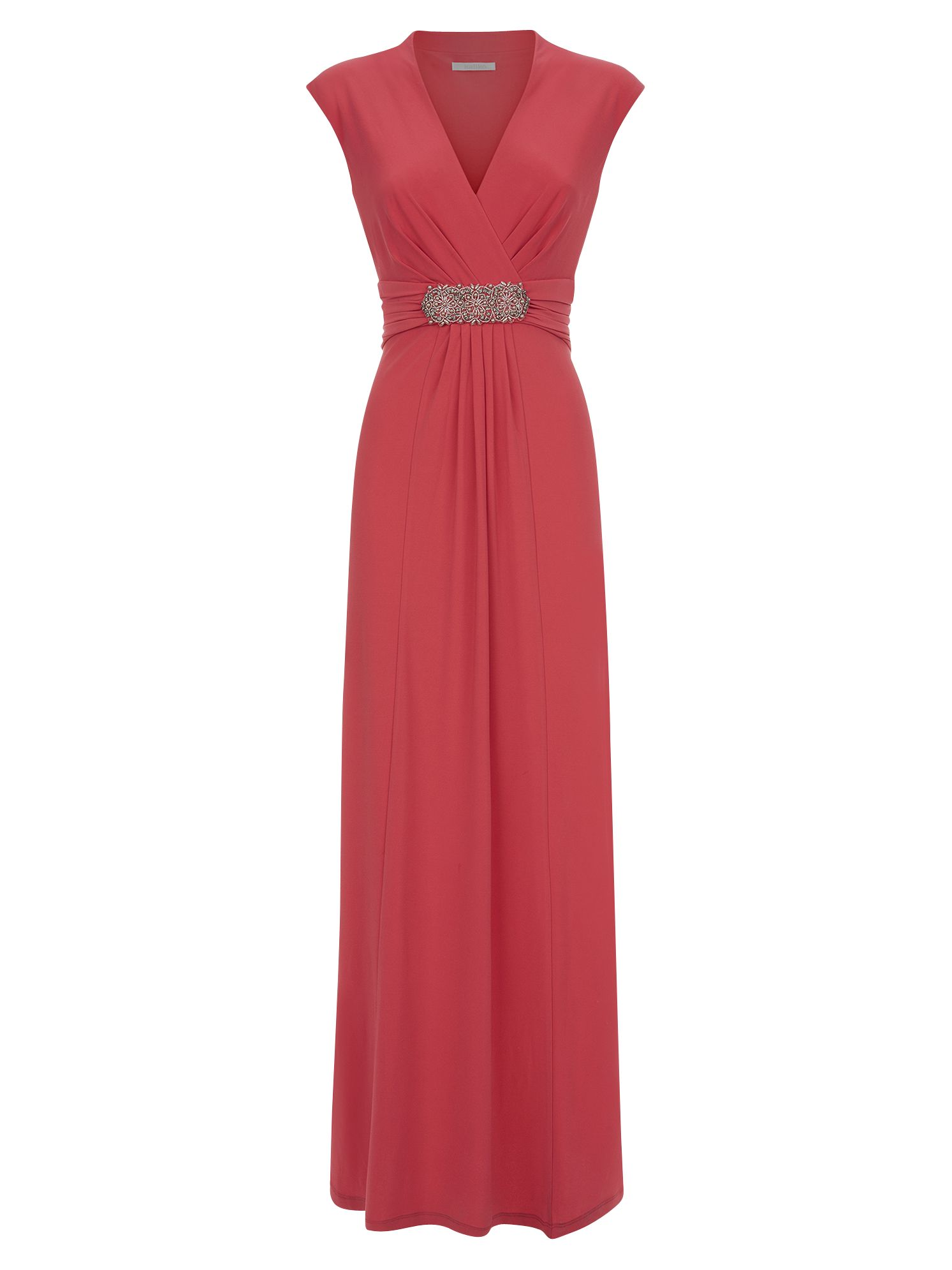 kaliko embellished waistband maxi dress pastel orange, kaliko, embellished, waistband, maxi, dress, pastel, orange, 8|18|20|16|10|12|14, women, plus size, womens dresses, special offers, womenswear offers, womens dresses offers, gifts, wedding, wedding clothing, adult bridesmaids, 1869522