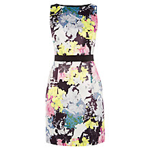 Buy Warehouse Statement Floral Shift Dress, Multi Online at johnlewis.com