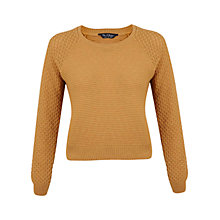 Buy Miss Selfridge Tuck Stitch Jumper Online at johnlewis.com