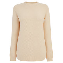Buy Warehouse Basket Weave Cotton Jumper Online at johnlewis.com