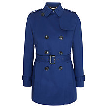 Buy Viyella Trench Coat, Cobalt Online at johnlewis.com