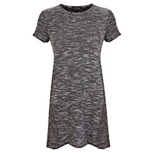 Buy Miss Selfridge T-shirt Tunic, Grey Online at johnlewis.com