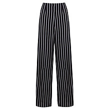 Buy Miss Selfridge Wide-leg Trousers, Assorted Stripe Online at johnlewis.com