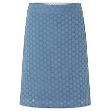 Buy White Stuff Daisy Chain Skirt, Orient Blue Online at johnlewis.com