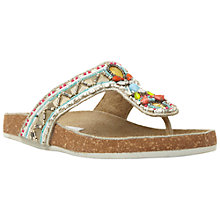 Buy Steve Madden Fiestaa Embellished Sandals, Multi Online at johnlewis.com