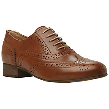 Buy Dune Black Ferne Lace Up Leather Brogues Online at johnlewis.com