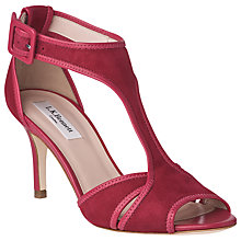 Buy L.K Bennett Cristina Suede Nappa Sandals, Pink Online at johnlewis.com