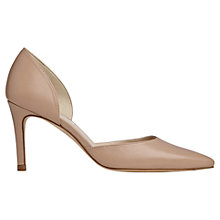 Buy L.K. Bennett Flossie Leather D'Orsay Court Shoes, Trench Online at johnlewis.com