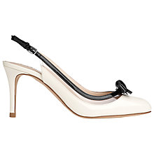 Buy L.K. Bennett Marble Patent Slingback Court Shoes Online at johnlewis.com