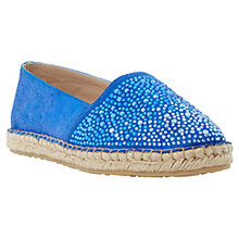 Buy Dune Guessed Suede Espadrilles Online at johnlewis.com