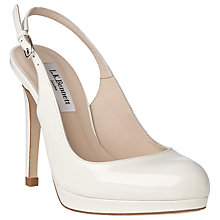 Buy L.K. Bennett Clemmie Slingback Patent Court Shoes Online at johnlewis.com