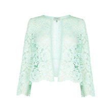 Buy Coast Amelia Lace Jacket, Mint Online at johnlewis.com