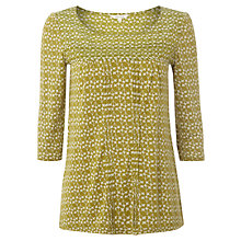 Buy White Stuff Chloe Top, Green Online at johnlewis.com