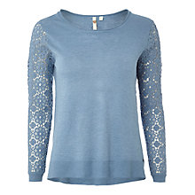 Buy White Stuff Spring Time Jumper, Orient Blue Online at johnlewis.com