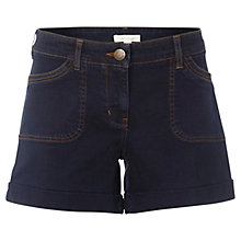 Buy White Stuff Wilma Denim Shorts, Navy Online at johnlewis.com
