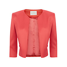 Buy Kaliko Bow Pocket Satin Jacket Online at johnlewis.com