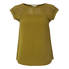 Buy White Stuff Sunrise Top, Green Online at johnlewis.com