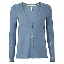 Buy White Stuff Tea Cardigan, Orient Blue Online at johnlewis.com