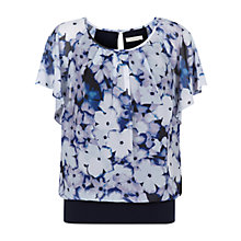 Buy Kaliko Forget Me Not Bubble Hem Top Online at johnlewis.com