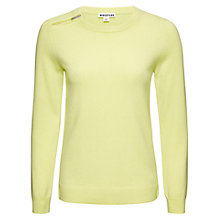 Buy Whistles Cashmere Zip Neck Jumper Online at johnlewis.com