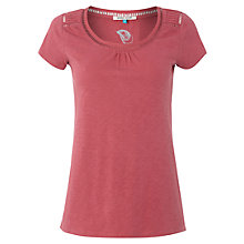 Buy White Stuff Short Sleeve Dawn T-Shirt, Sunset Pink Online at johnlewis.com