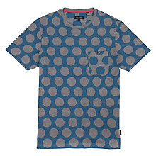 Buy Ted Baker Lamarna Spotted Print T-Shirt, Teal Online at johnlewis.com