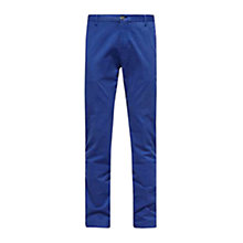 Buy Tommy Hilfiger William Slim Fit Trousers, Navy Online at johnlewis.com