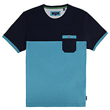Buy Ted Baker Minegg Colour Block T-Shirt Online at johnlewis.com