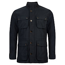 Buy Ted Baker Drogo Military Jacket, Navy Online at johnlewis.com