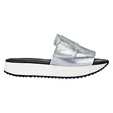 Buy Whistles Haldi Leather Cleated Sole Sliders Online at johnlewis.com