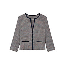 Buy Gerard Darel Alentejo Tweed Jacket, Black Online at johnlewis.com