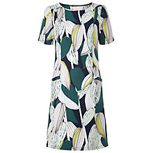Buy White Stuff Urban Garden Dress, Cactus Green Online at johnlewis.com