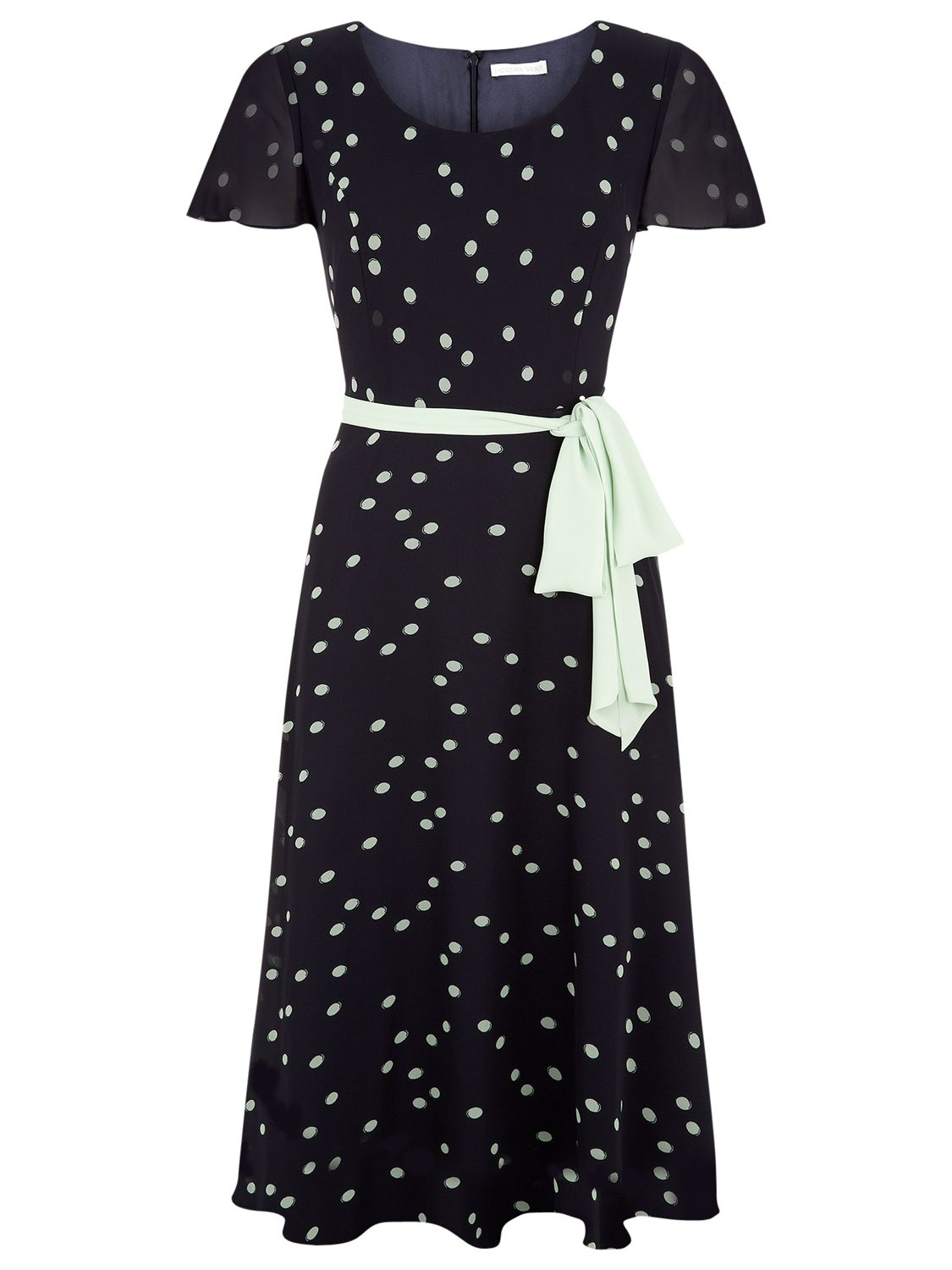 jacques vert printed fit and flare dress navy, jacques, vert, printed, fit, flare, dress, navy, jacques vert, 8|22|24|18|12|16|20|10|14, women, plus size, womens dresses, 1867318