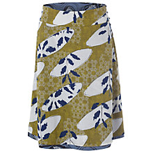 Buy White Stuff Surf & Turf Reversible Skirt, Pineapple Online at johnlewis.com