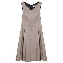 Buy Gerard Darel Accent Dress, Beige Online at johnlewis.com